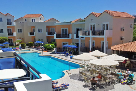 Sunset Suites, Platanias