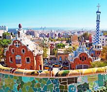 Barcelona, Lento+hotelli