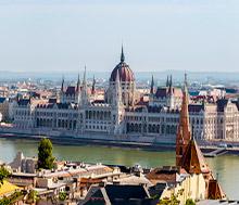 Budapest, Lento+hotelli