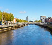 Dublin, Lento+hotelli