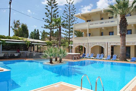 Sunny Suites, Maleme