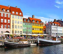 Kööpenhamina, Lento+hotelli