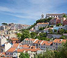 Lissabon, Lento+hotelli