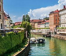 Ljubljana, Lento+hotelli