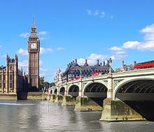 Lontoo, Lento+hotelli