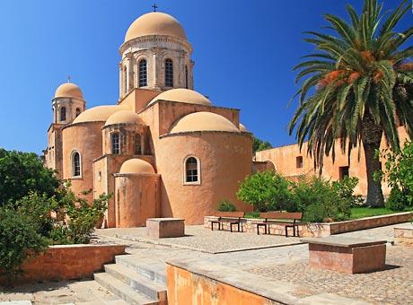 kreetan luostarit agia triada