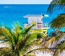 Miami, Lento+hotelli