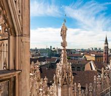 Milano, Lento+hotelli