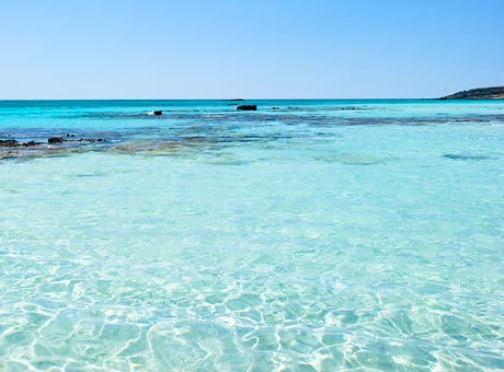 kreetan parhaat rannat elafonissi