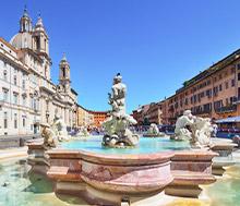 Rooma, Lento+hotelli