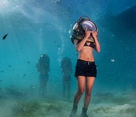 Sea Trek sukelluskyp�r�seikkailu