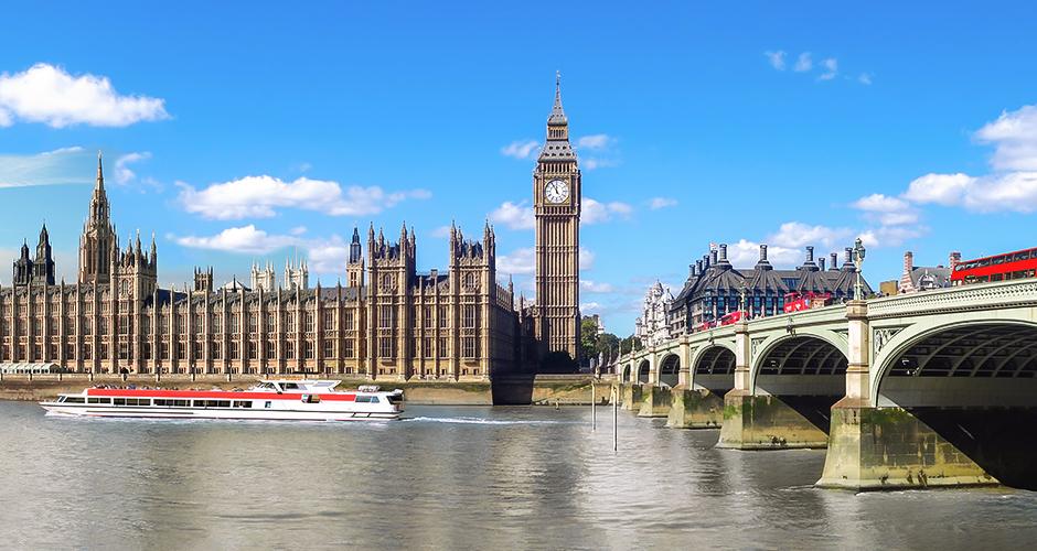 Lontoo, Lento+hotelli 1