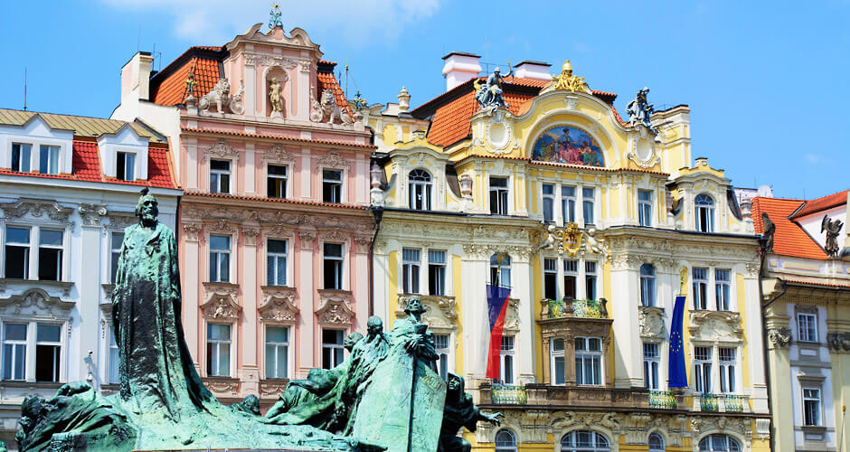 Praha, Lento+hotelli 6