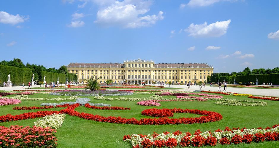 Wien, Lento+hotelli 1