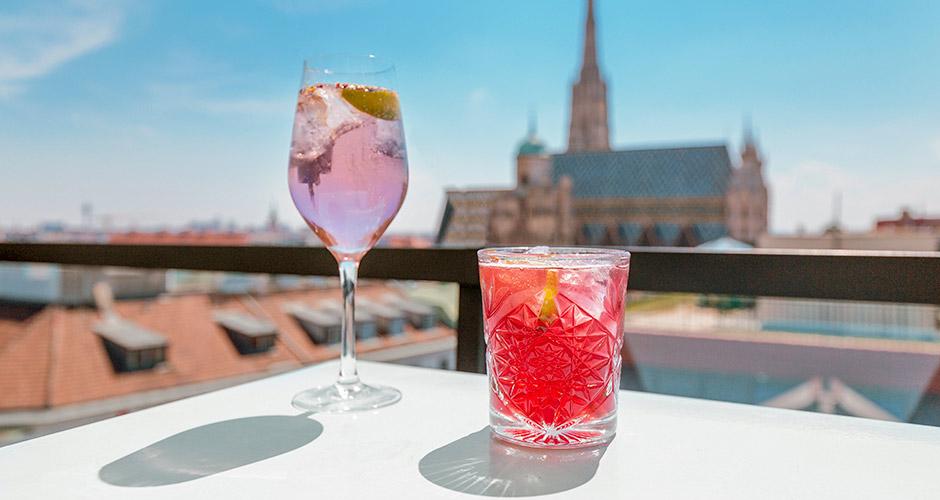 Wien, Lento+hotelli 22