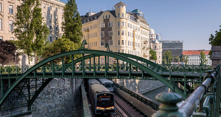 Wien, Lento+hotelli 10