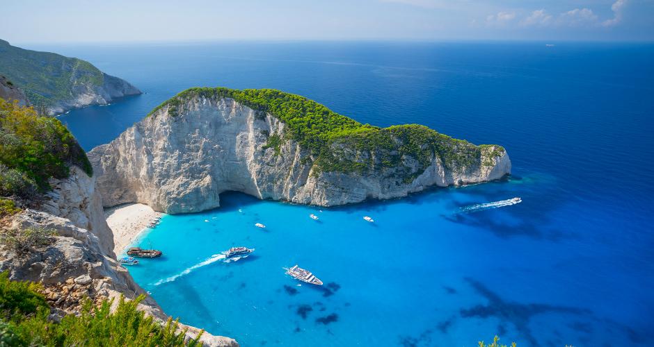 Kreikka 25 - Laivanhylkyranta Navagio