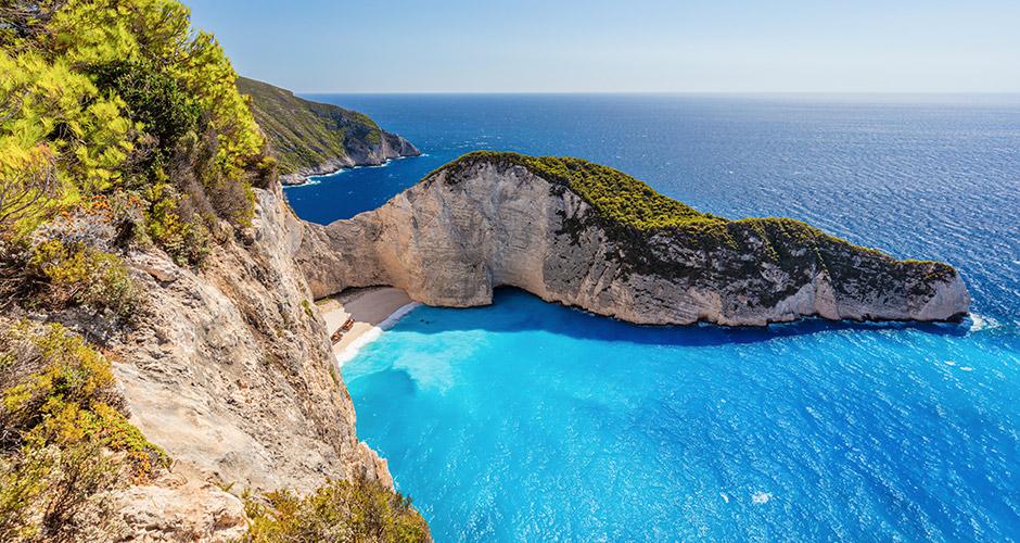 Zakinthos 16 - Zakinthoksen saarella on kauniita oliivilehtoja.